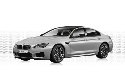 Цвета M6 Gran Coupe (F06)